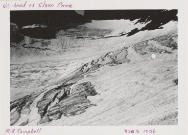 Thunderbird Glacier, Montana