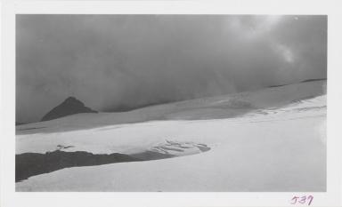 Glacier on Takawangha Volcano, Tanaga Island, Alaska