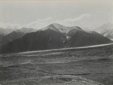 Unknown glacier, Hess Mountain, Alaska