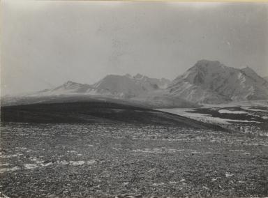 Trident Glacier, Delta Creek, Mount Hayes, Alaska