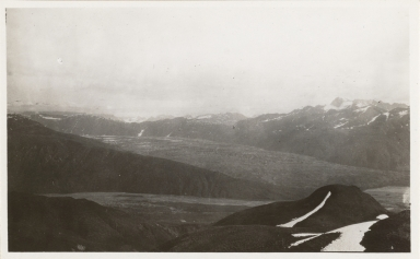Unknown glacier, Tokositna River area, Alaska