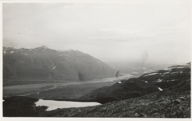Unknown glacier, Tokositna River area, Alaska