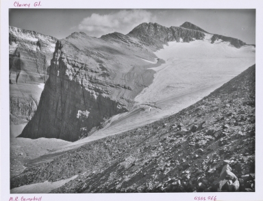 Chaney Glacier, Montana