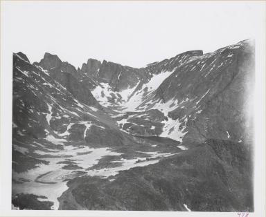 Cloud Peak Glacier, Wyoming