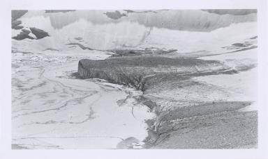Unknown glacier, Iceberg Lake, Montana