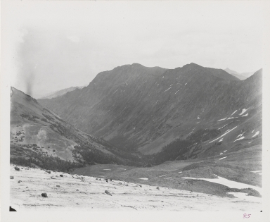 """Unknown glacier (""""Sulphur Glacier""""), Wyoming"""