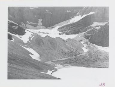 Siyeh Glacier, Montana