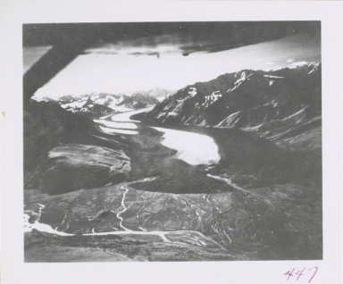 Black Rapids Glacier, Alaska