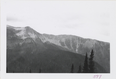 Swan Range at head of Lost Creek, Montana