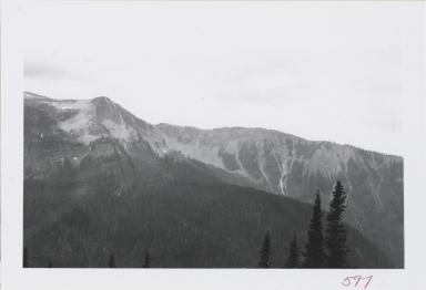 Swan Range at head of Lost Creek, Montana