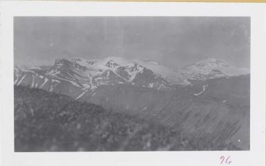Unknown glacier, Mount Martin, Alaska