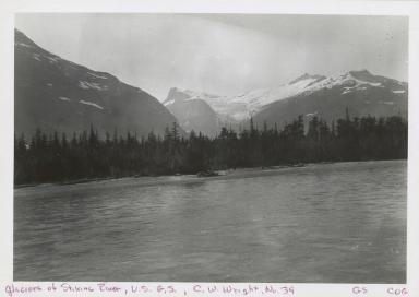 Glacier between Little Canyon and Flood Glacier, British Columbia