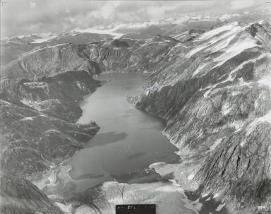 Unknown glacier, Lake Dorothy, Alaska