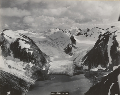 Unknown glacier, Lake Dorothy, Alaska