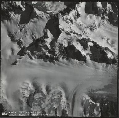 Canwell Glacier, aerial photograph 050, Alaska