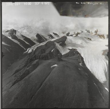 Unknown glacier near Donjek, Yukon, Canada