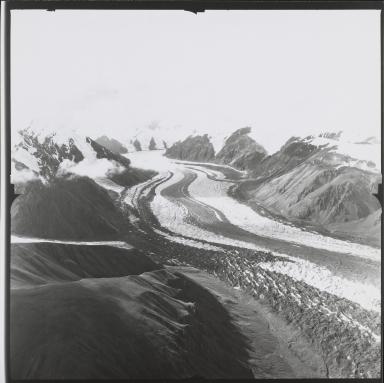Unknown glacier, probably Steele Glacier, Yukon, Canada