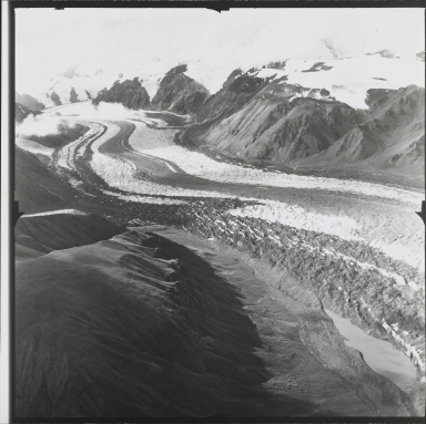 Unknown glacier, probably Steele Glacier, Yukon, Canada