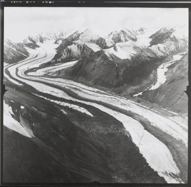 Nesham Glacier, Yukon, Canada
