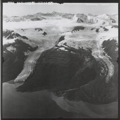 Wellesley Glacier and Vassar Glacier, Alaska