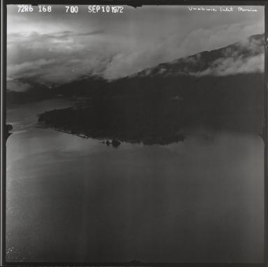 Moraine in Unakwik Inlet, Alaska
