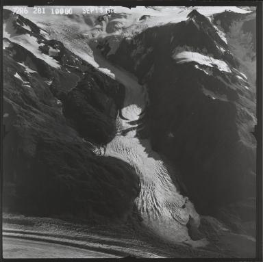Ellsworth Glacier, southeast branch, Alaska