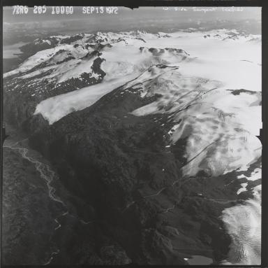 Sargent Ice Field, west side, Alaska