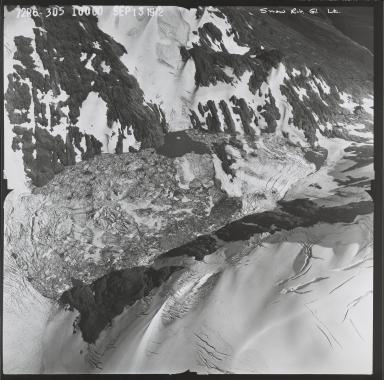 Unknown glacier near the Snow River, Alaska