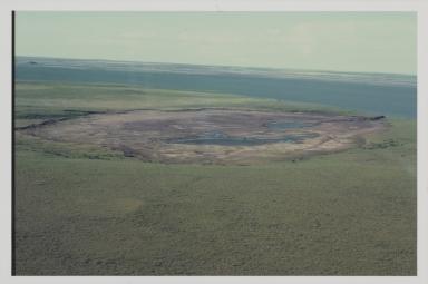 Lake Illisaivih [?] one year after lake drainage