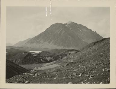 Unknown glacier near Mount Eielson, Alaska