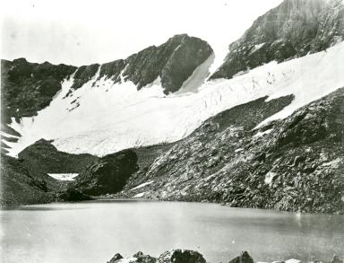 Unknown glacier near Mount Dana, California