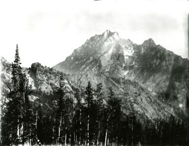 Unknown glacier near Mount Stuart, Washington