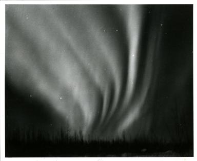 Aurora near Fairbanks, Alaska