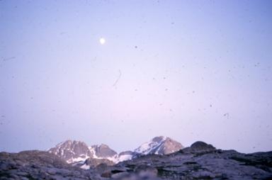 Unknown glacier, western United States
