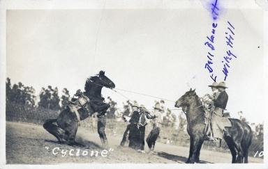 Cyclone, bucking