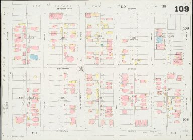 Insurance maps of Denver, Colorado. Volume three