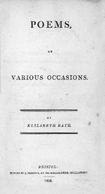 Poems, on various occasions