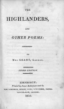 The Highlanders and other poems