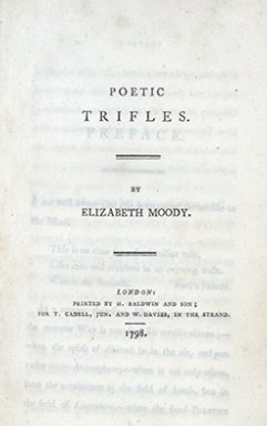 Poetic trifles