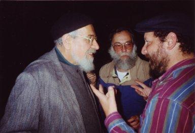 Rabbi Zalman Schachter-Shalomi, Yoram Getzler, Ya'qub ibn Yusuf (Joshua Heckelman), pt. 1 of 3.