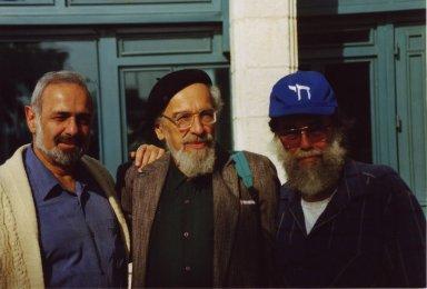 Moshe Dror, Rabbi Zalman Schachter-Shalomi and Yoram Getzler, pt. 3 of 3.