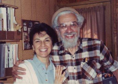 Rabbi Zalman Schachter-Shalomi with his sister, Devorah Kieffer.