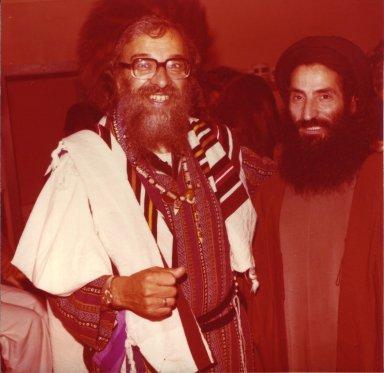 Rabbi Zalman Schachter with an unidentified Sufi sheikh, pt. 15 of 15.