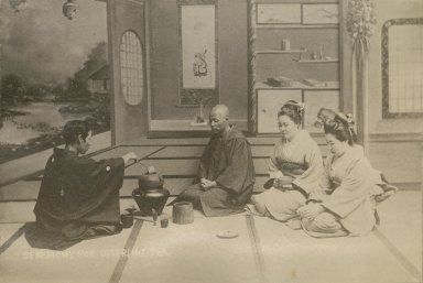 The Chanoyu, or Japanese tea ceremony