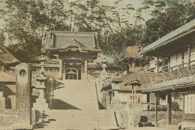 Ryukoji Temple at Katase, Enoshima.