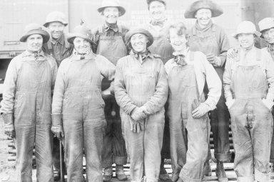 Cheyenne, Wyoming 1919 Union Pacific yards