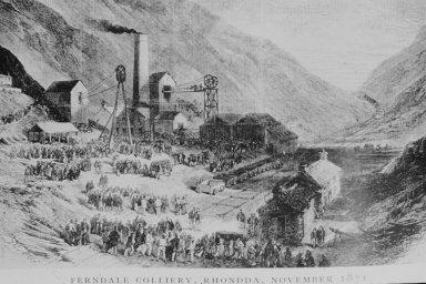 Ferndale Coliery, 1871