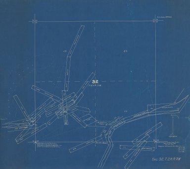 Map of Sec.32, T.2N.R.71W.