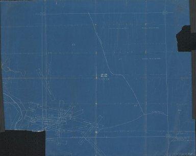 Map of Sec.22, T.1N.R.71W.