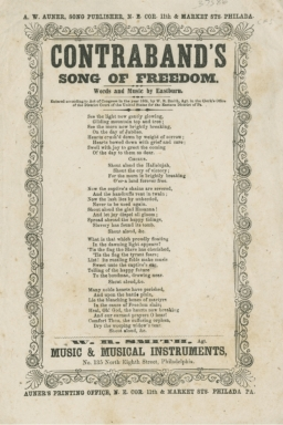 Contraband's song of freedom